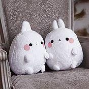 Мягкие игрушки ручной работы. Ярмарка Мастеров - ручная работа Мягкие игрушки: Кролик Molang. Handmade.