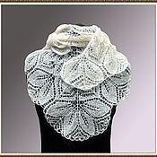 Аксессуары handmade. Livemaster - original item Mini-shawl spokes