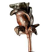 Подарки к праздникам ручной работы. Ярмарка Мастеров - ручная работа Роза из красного дерева, Redwood Rose. Handmade.