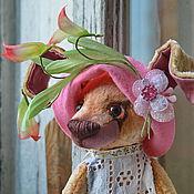 Куклы и игрушки ручной работы. Ярмарка Мастеров - ручная работа Друзья тедди - такса Флора. Handmade.