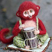 Куклы и игрушки handmade. Livemaster - original item monkey manju. Handmade.