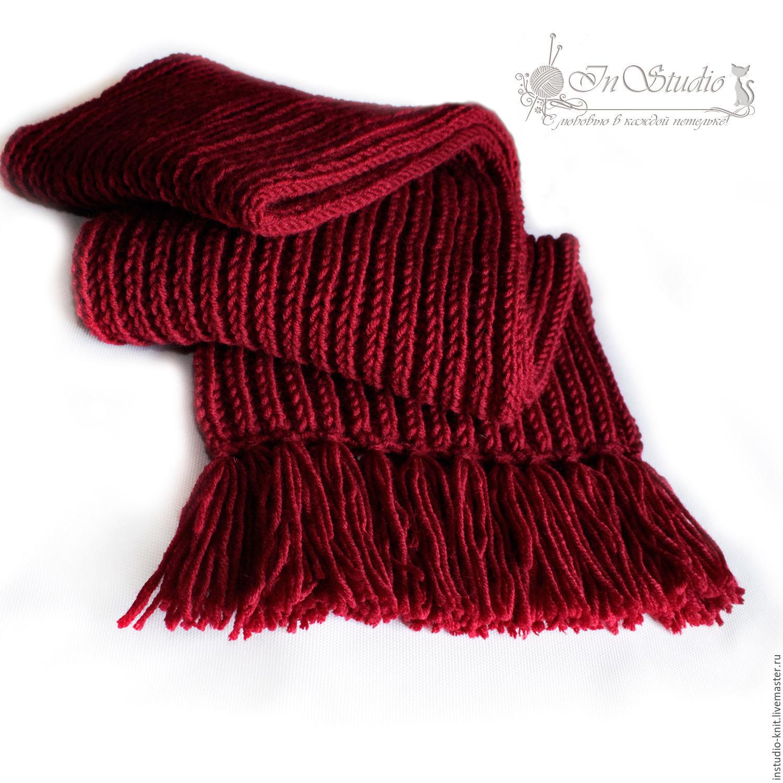 Связали шарф длиной