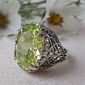 Украшения handmade. Livemaster - original item Vintage ring with large stone. Handmade.