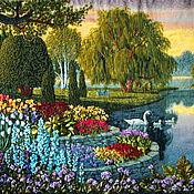 Картины и панно handmade. Livemaster - original item Picture. Park secrets.135 x 48. Handmade.