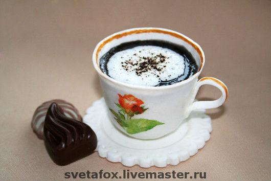 Мыльная кофейная чашка