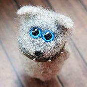 Куклы и игрушки ручной работы. Ярмарка Мастеров - ручная работа Котопёс Зигмунд - авторская войлочная игрушка. Handmade.