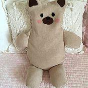 Куклы и игрушки ручной работы. Ярмарка Мастеров - ручная работа Грелка с вишневыми косточками Мишка. Handmade.