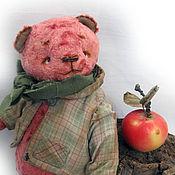 Куклы и игрушки ручной работы. Ярмарка Мастеров - ручная работа Толстый Жорик - мишка тедди. Handmade.