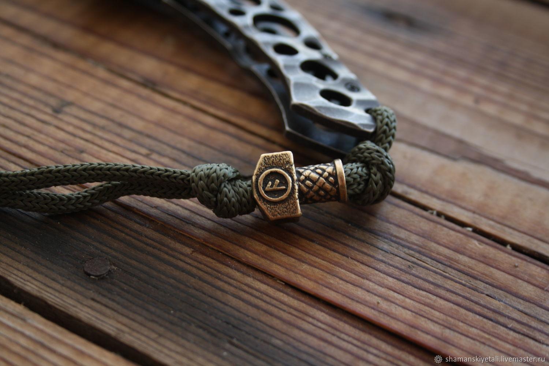 Bead lanyard the hammer of Thor, Souvenir weapon, Volgograd,  Фото №1
