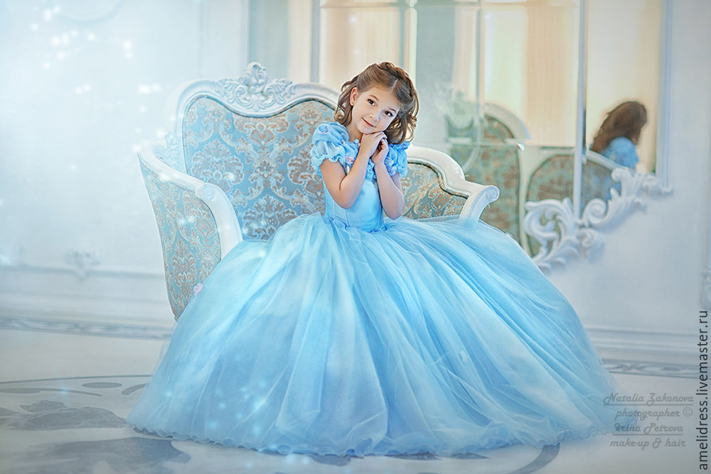 Сказка детские платья