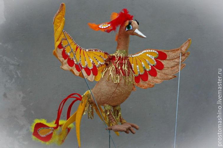 Сказочная птица - Жар-птица, Куклы и пупсы, Киев,  Фото №1