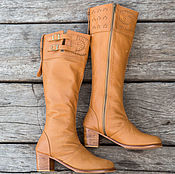 Обувь ручной работы handmade. Livemaster - original item Winter women`s boots genuine leather. Handmade.