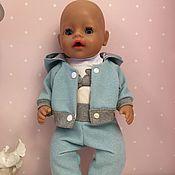 Куклы и игрушки ручной работы. Ярмарка Мастеров - ручная работа Спортивный костюм для baby born. Handmade.