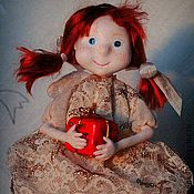 Куклы и игрушки ручной работы. Ярмарка Мастеров - ручная работа Ангел Рождества (в подарочной упаковке). Handmade.