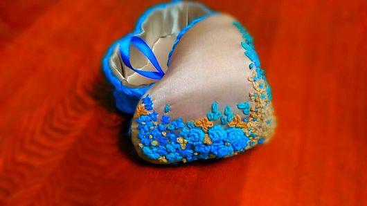 Шкатулки ручной работы. Ярмарка Мастеров - ручная работа. Купить Шкатулка-игольница. Handmade. Подарок, сердце, полушерстяная пряжа