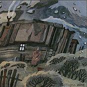 """Картины и панно ручной работы. Ярмарка Мастеров - ручная работа Панно """"Вечер"""". Handmade."""