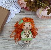Куклы и игрушки handmade. Livemaster - original item Textile doll handmade gift . Textile cyclestreets.. Handmade.