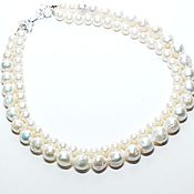 Украшения handmade. Livemaster - original item Pearl necklace -