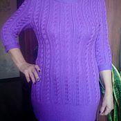Одежда ручной работы. Ярмарка Мастеров - ручная работа Женский вязаный свитер, ручная работа, образец. Handmade.