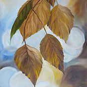 Картины и панно ручной работы. Ярмарка Мастеров - ручная работа Осенние Листья. Handmade.