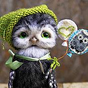 Куклы и игрушки ручной работы. Ярмарка Мастеров - ручная работа Совушка Аглаша. Handmade.