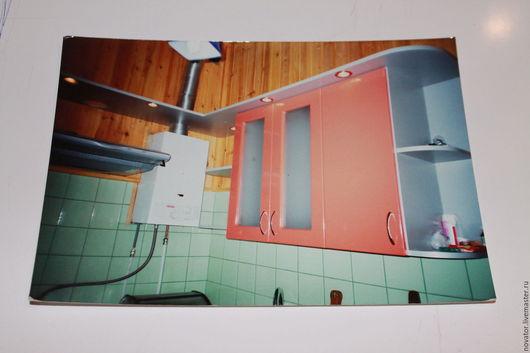 Кухня ручной работы. Ярмарка Мастеров - ручная работа. Купить 2002 год одна из первых кухонь. Handmade. Рыжий, кухня, мдф