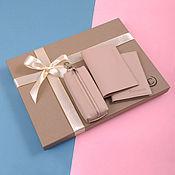 Сувениры и подарки handmade. Livemaster - original item Set of products made of genuine leather. Handmade.