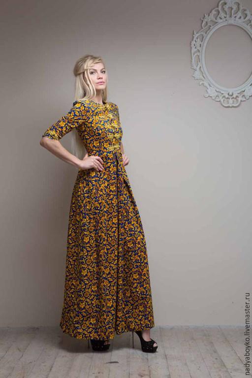 """Платья ручной работы. Ярмарка Мастеров - ручная работа. Купить платье """"Анжелика"""". Handmade. Платье, платье длинное, необычное платье"""