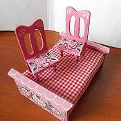 Куклы и игрушки ручной работы. Ярмарка Мастеров - ручная работа Распишу мебель для мишек или кукол. Handmade.