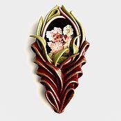 Украшения handmade. Livemaster - original item Brooch-pin: HOLIDAY Feather. Handmade.