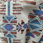 Материалы для творчества handmade. Livemaster - original item Linen slim BOHO ornament AZTECS. Handmade.