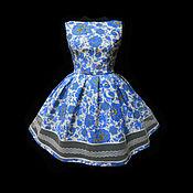 """Одежда ручной работы. Ярмарка Мастеров - ручная работа Платье """"Морозное дэ ЖАВЮ"""" нежное. Handmade."""