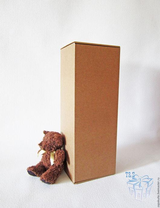 Упаковка ручной работы. Ярмарка Мастеров - ручная работа. Купить Крафт коробки, 41х15х14 см, мгк, коробка для кукол, высокая, большая. Handmade.
