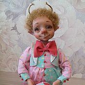 """Куклы и игрушки ручной работы. Ярмарка Мастеров - ручная работа Букашка цирковая """" Лютик"""". Handmade."""