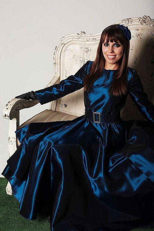 """Платья ручной работы. Ярмарка Мастеров - ручная работа. Купить Платье 50-х годов - """"Лоретта"""". Handmade."""