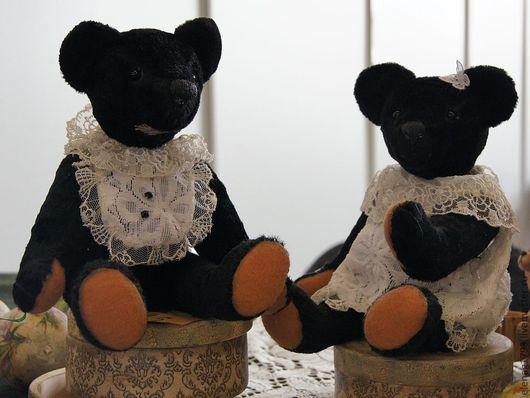 Мишки Тедди ручной работы. Ярмарка Мастеров - ручная работа. Купить Бонни. Handmade. Черный, тедди, подарок девушке