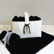 Для дома и интерьера handmade. Livemaster - original item A box of tissue. Handmade.