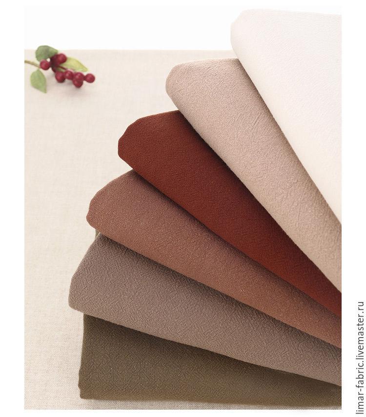 """ручной работы. Ярмарка Мастеров - ручная работа. Купить Льняная ткань """"Ретро"""", 6 цветов. Handmade. Бохо, шитье"""