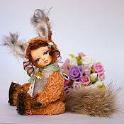 Куклы и игрушки ручной работы. Ярмарка Мастеров - ручная работа Яся,тедди-долл. Handmade.