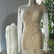 Одежда ручной работы. Ярмарка Мастеров - ручная работа Концертное платье из французского кружева. Handmade.