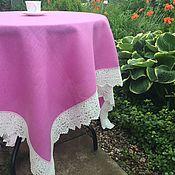 handmade. Livemaster - original item Linen tablecloth