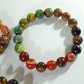 Украшения handmade. Livemaster - original item Stone bracelet for Leo, Gemini, and Taurus for good luck and health!. Handmade.