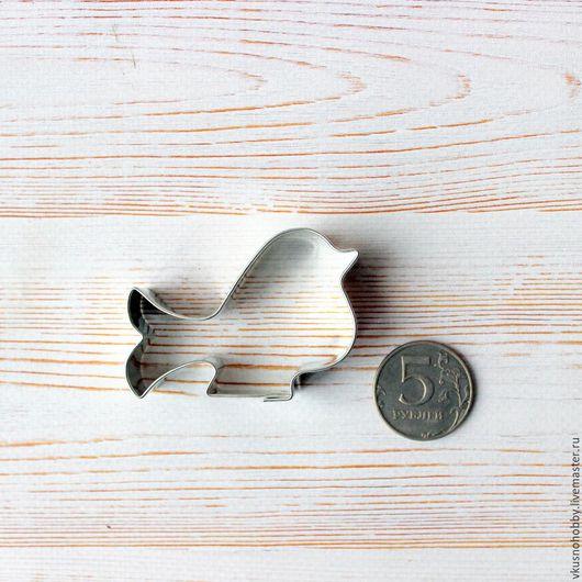 Другие виды рукоделия ручной работы. Ярмарка Мастеров - ручная работа. Купить Птичка мальнькая с хвостиком. 6,5х4 см. Резак, каттер, формочка. Handmade.