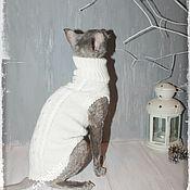Для домашних животных, ручной работы. Ярмарка Мастеров - ручная работа Свитер для котов и кошек. Handmade.