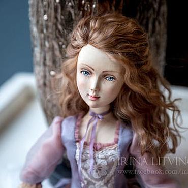 Куклы и игрушки ручной работы. Ярмарка Мастеров - ручная работа Коллекционная кукла из дерева Верочка. Handmade.