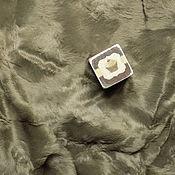 """Материалы для творчества ручной работы. Ярмарка Мастеров - ручная работа Итальянская вискоза """"Серо-коричневый"""" 6мм. Handmade."""