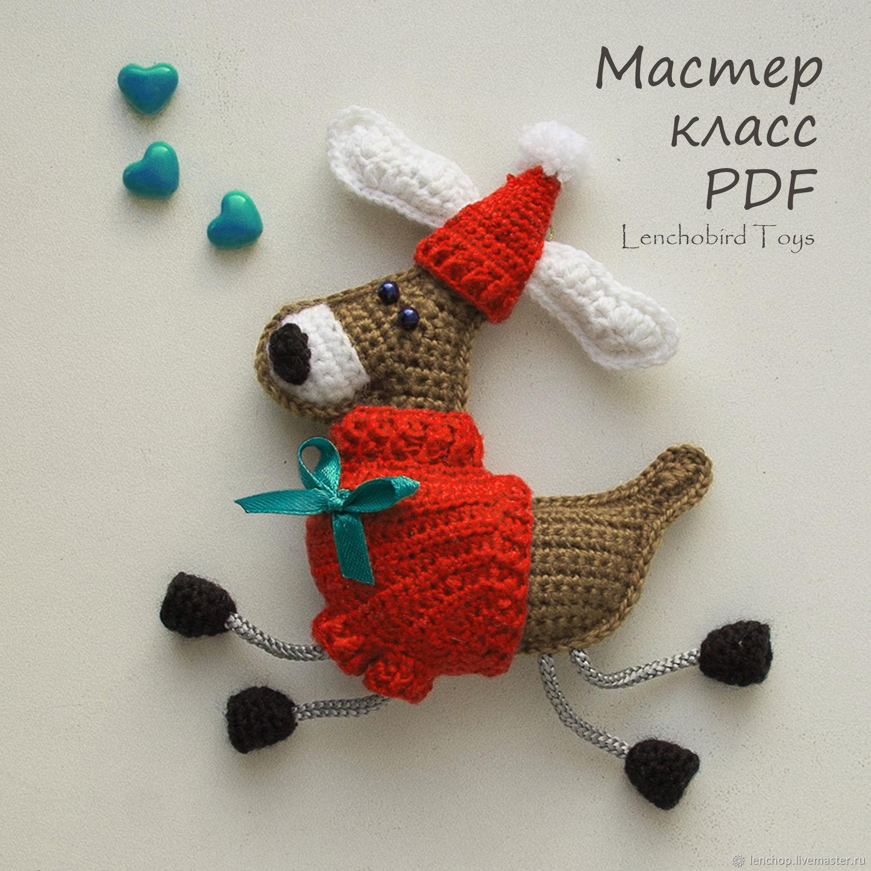 Crochet Reindeer pattern Christmas ornament and souvenir, Knitting patterns, Barnaul,  Фото №1