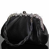 Сумки и аксессуары handmade. Livemaster - original item Leather handbag, black handbag, handbag outlet, handbag. Handmade.