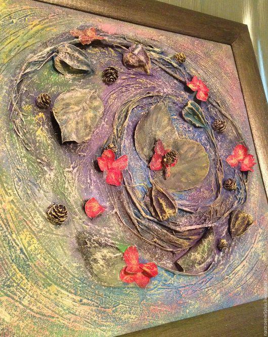 Картины цветов ручной работы. Ярмарка Мастеров - ручная работа. Купить Крылья бабочки. Handmade. Картина, панно, фактурная штукатурка