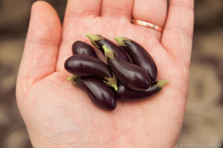 eggplant, Miniature figurines, Kovrov,  Фото №1